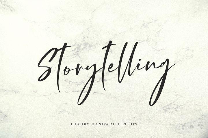 Storytelling - Modern Calligraphy