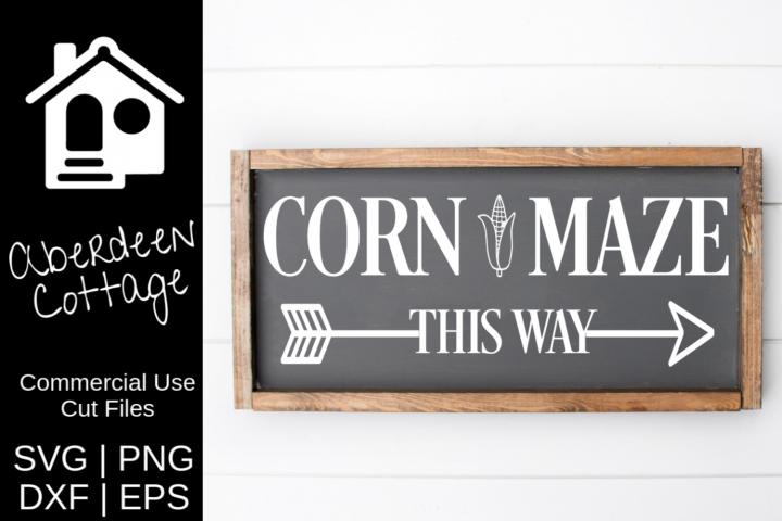 Corn Maze SVG | PNG | DXF | EPS