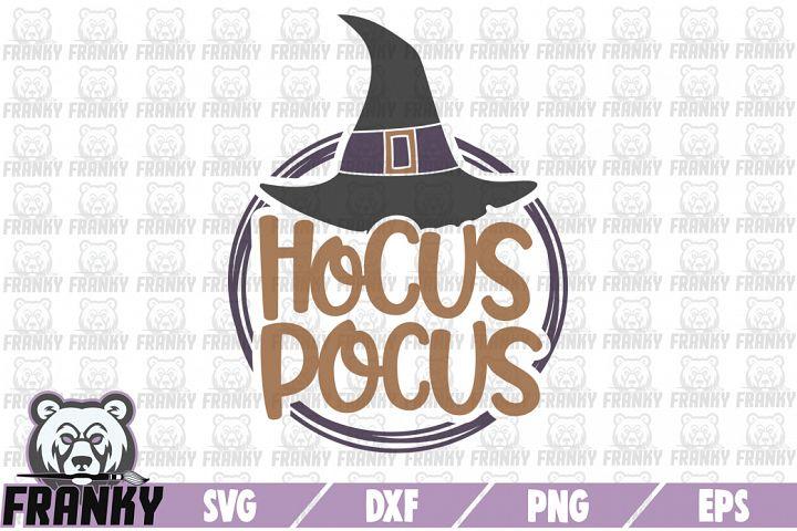 Hocus Pocus - SVG - DXF - PNG - EPS