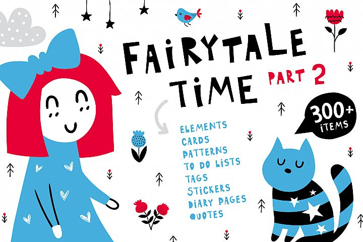 Fairytale Time Clipart Set - Part 2