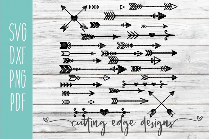 Arrows | Arrow Bundle| Arrow SVG Cut File