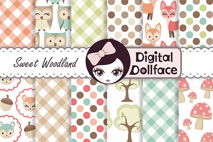 Woodland Animals Patterns