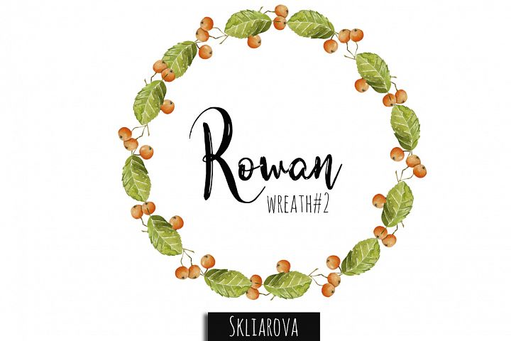 Rowan Wreath #2