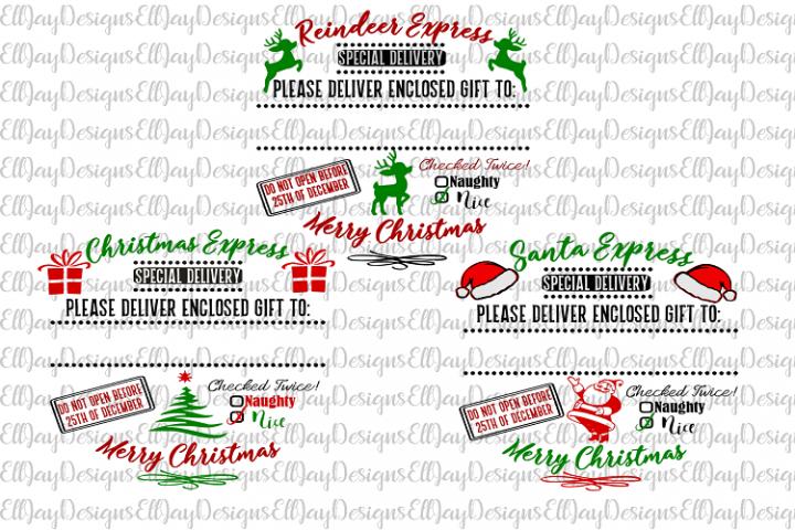 3 Santa Sack Designs