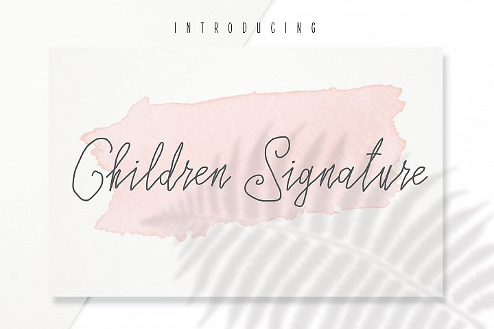 Children Signature