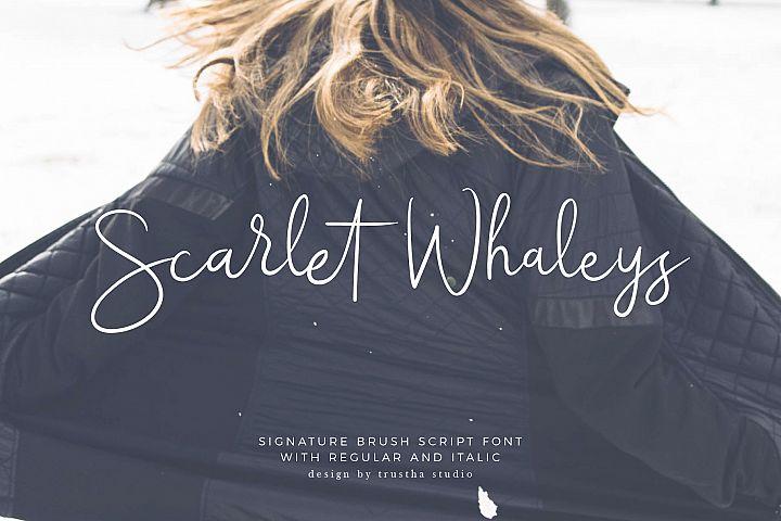 Scarlet Whaleys Script