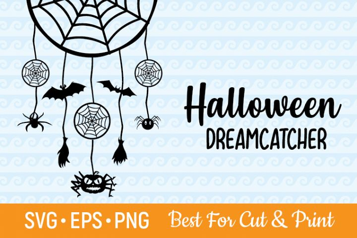 Halloween Dreamcatcher Cutting & Printing file