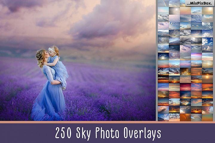 250 Sky Photo Overlays