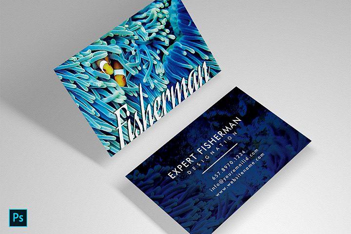 Fishing Marine Aquarium beautiful unique card