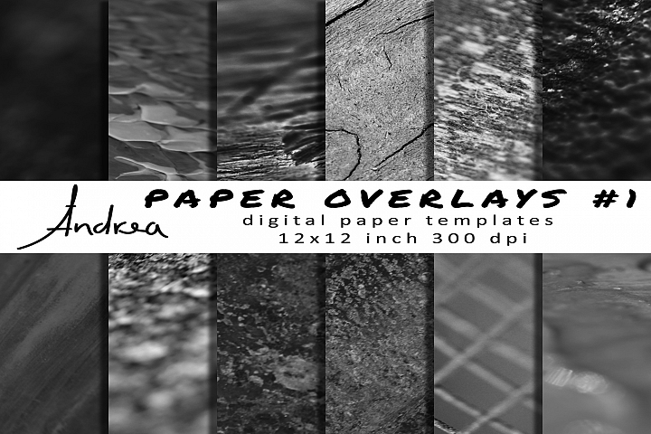 Paper overlays 1 | paper templates