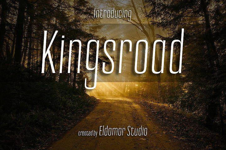 Kingsroad Font