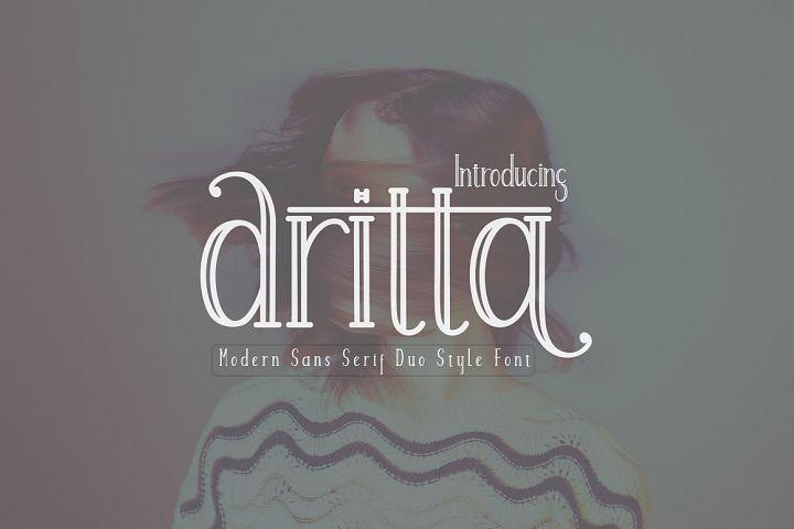 Aritta Font Duo
