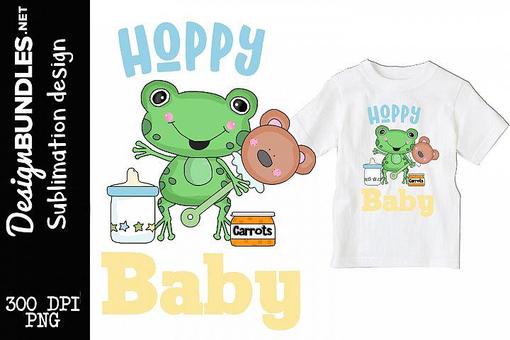 Hoppy Baby Sublimation Design