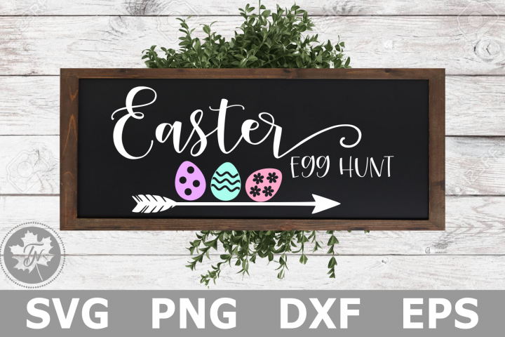 Easter Egg Hunt - An Easter SVG Cut File
