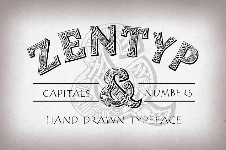 Zentyp font