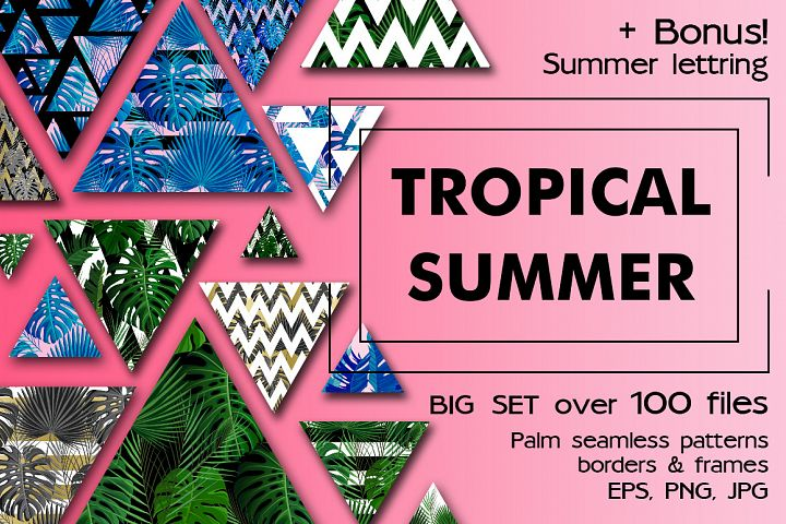 Tropical Summer Patterns + Bonus!