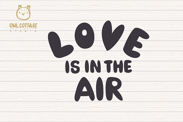 Valentine Gnomes svg , Gnome Couple, Valentine Air Ballon example 3