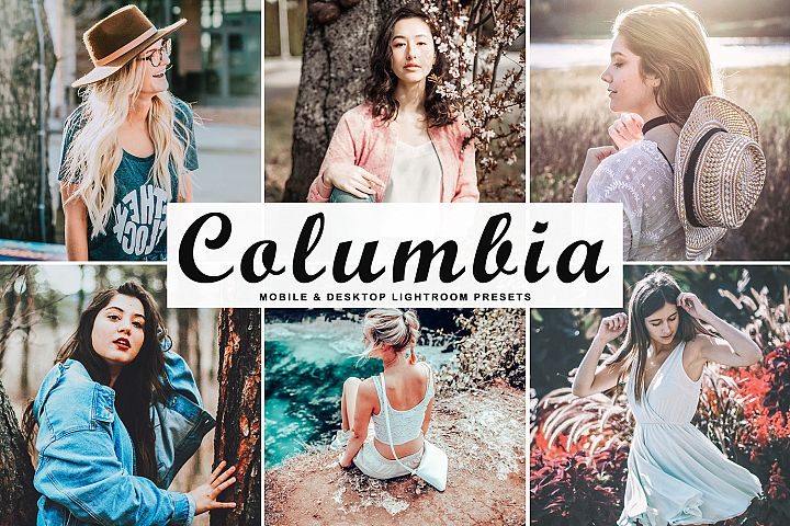 Columbia Mobile & Desktop Lightroom Presets