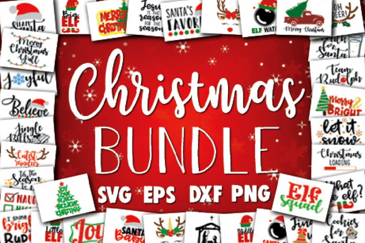 Christmas SVG bundle - Cut files - Christmas decoration
