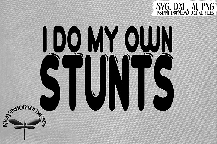 I Do My Own Stunts