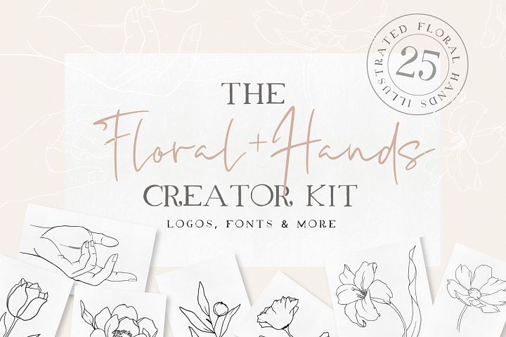 Floral Hands Creator Kit