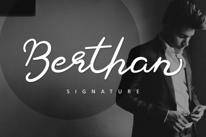 Berthan Signature