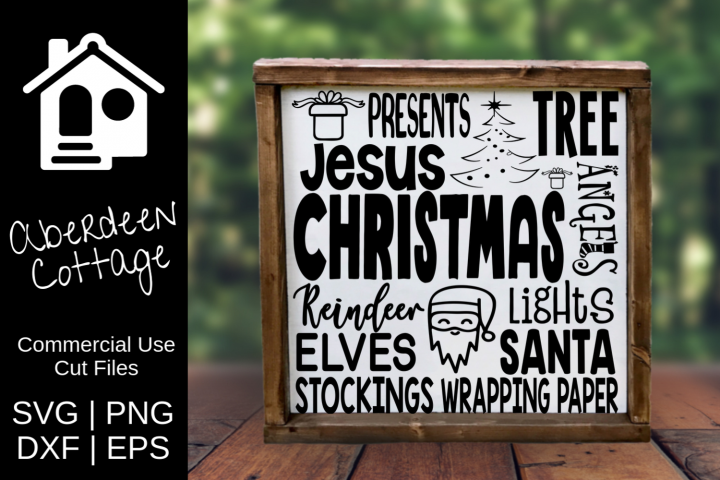 Christmas Expressions SVG Design