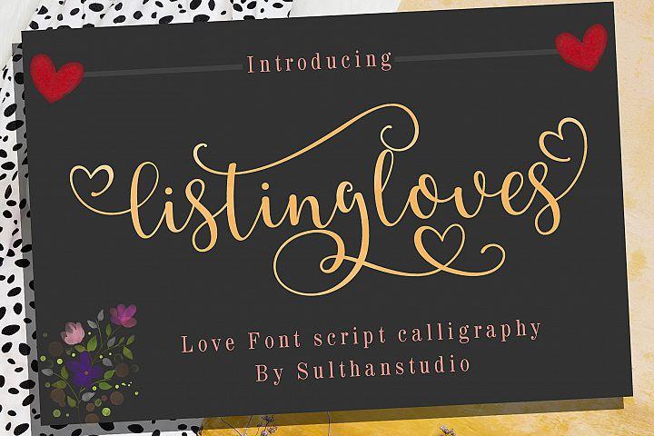 listing loves