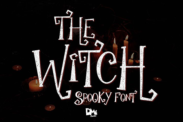 The Witch - Spooky Font