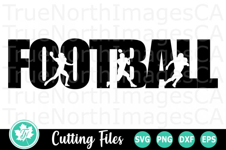 Football - A Sports SVG Cut File