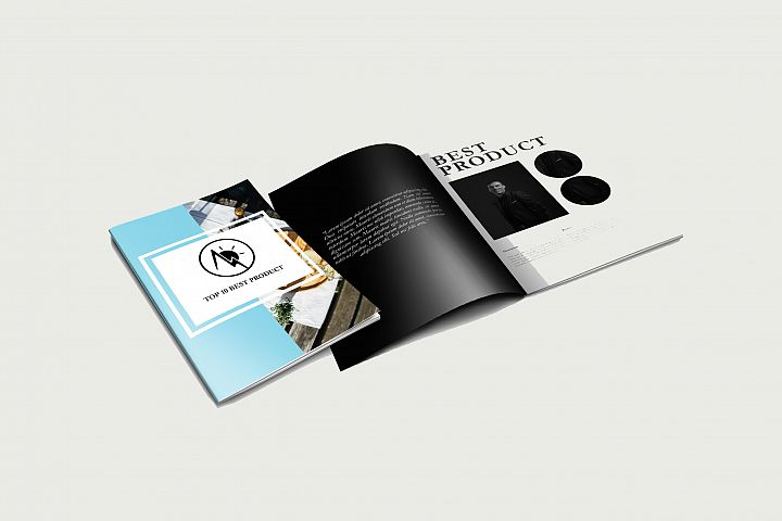 Multipurpose product brochure A4 sizes