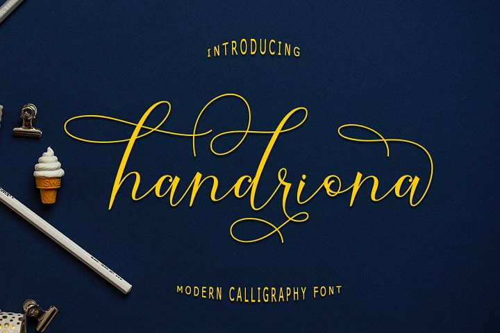 Handriona Script
