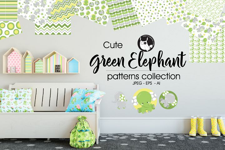 GREEN-ELEPHANT, digital papers