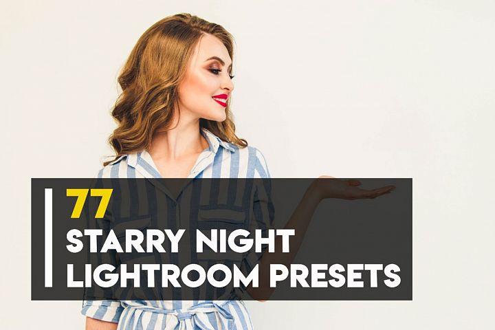Starry Night Lightroom Presets