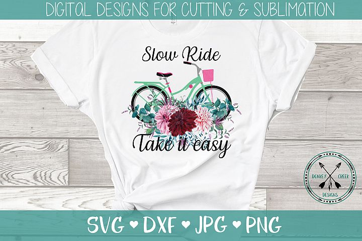 Sublimation Design, bicycle ride
