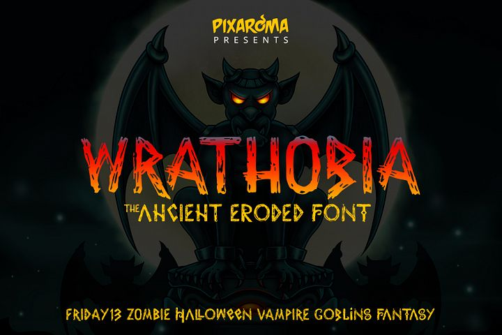Wrathobia Display Font