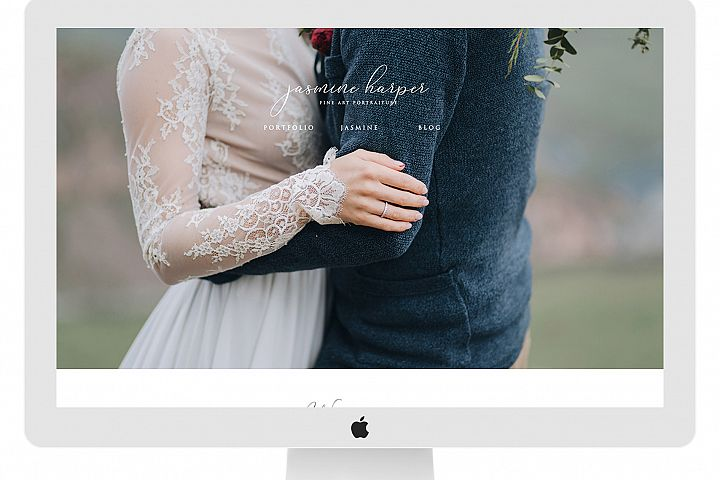 Wix Photography Website Template