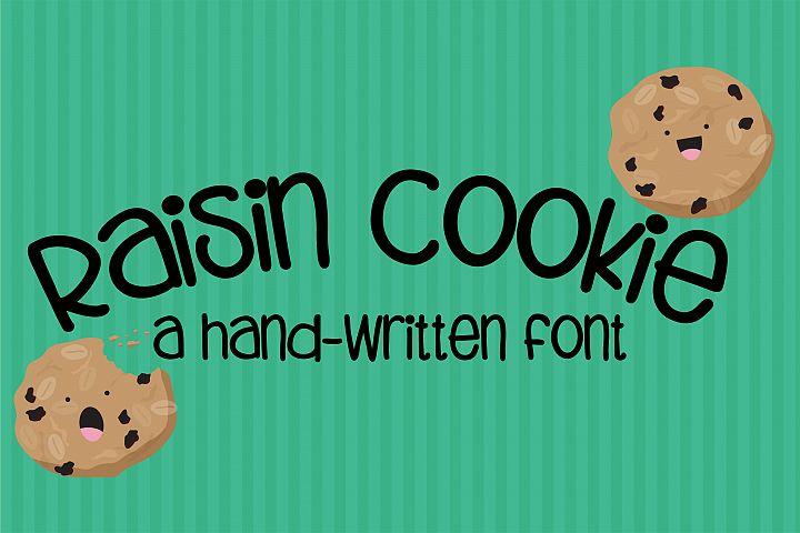 ZP Raisin Cookie