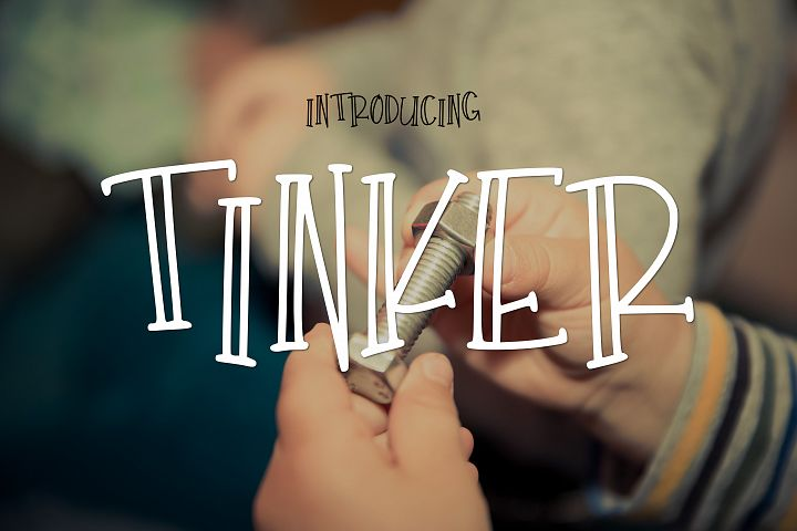 Tinker - Free Font of The Week