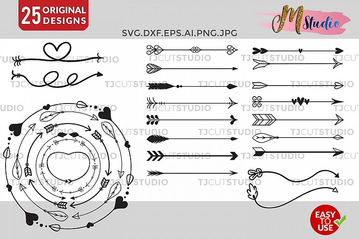 Arrow Circles svg, Arrow vector, Circles arrow svg.