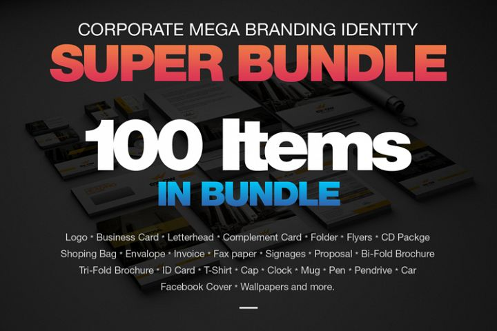 Stationary Mega Branding Bundle