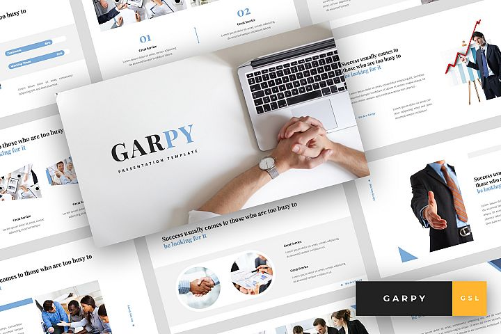 Garpy - Corporate Google Slides Template