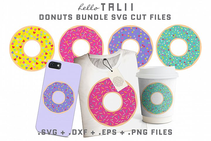 DONUT BUNDLE SVG Cut Files