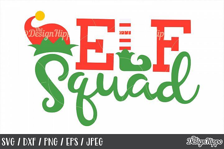 Kids, Christmas, Elf Squad, SVG, Elf Hat, Elf Feet, PNG, DXF