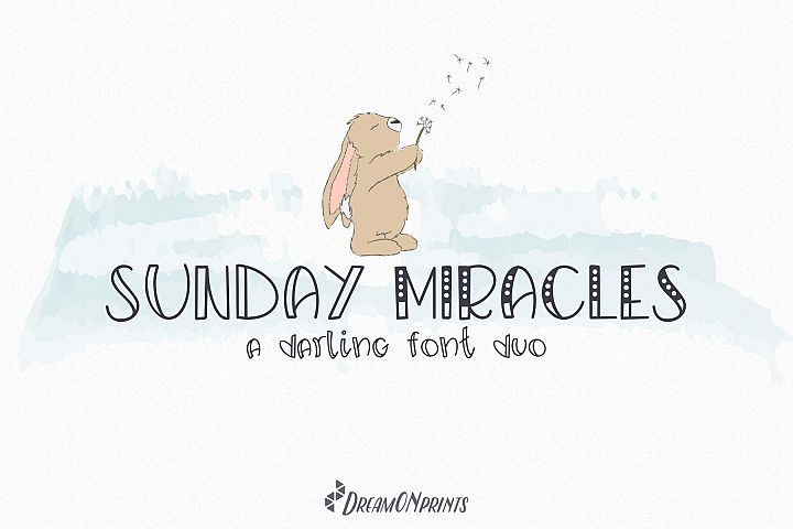 Sunday Miracles Font Duo