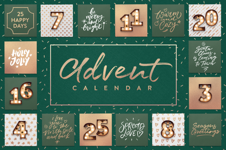 The Advent Calendar! 25 Festive Quotes