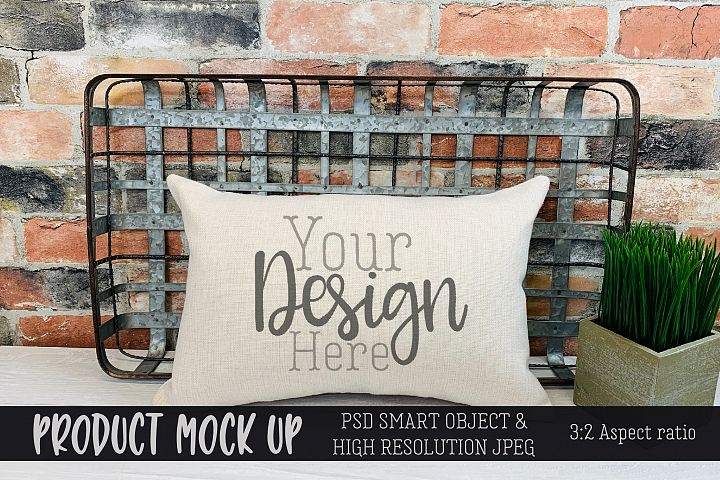 Pillow Craft MOCKUP | PSD & JPEG