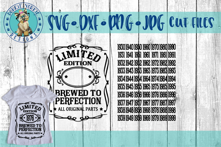 Brewed to Perfection SVG Cut File - All original parts - Free Design of The Week
