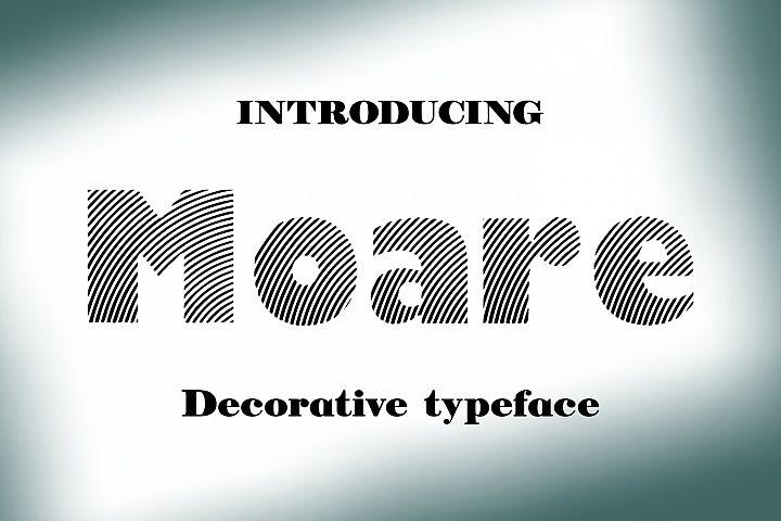 Moare example image 1