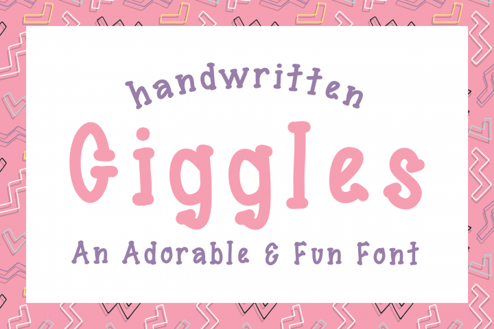 Giggles Dotted Serif Font